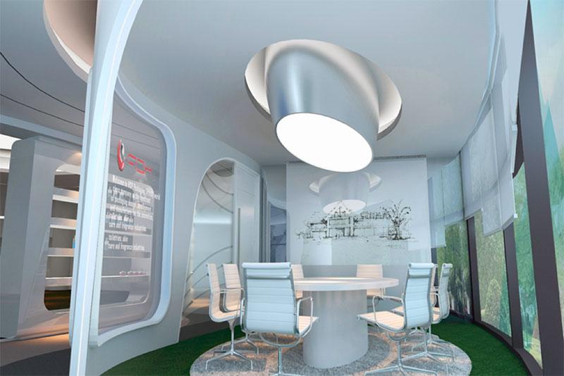 现代办公室设计的必备元素