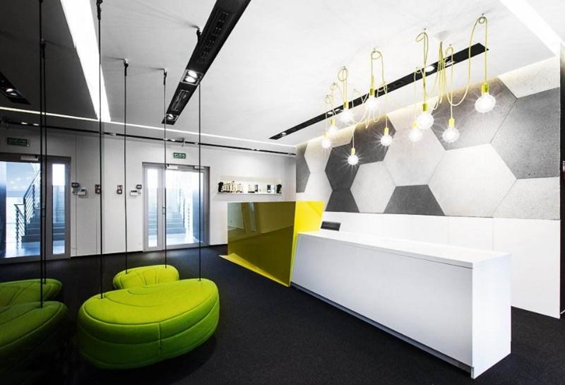 现代简约办公室装修的风格特点