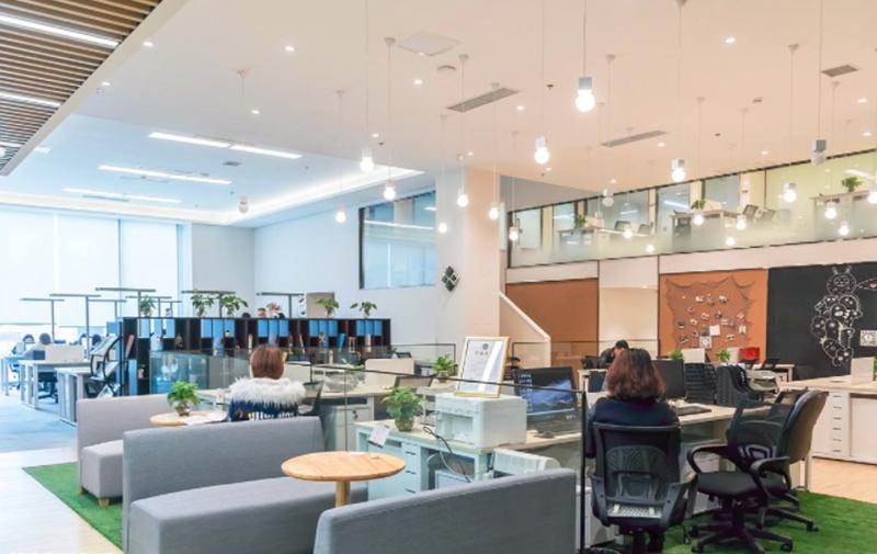 办公室设计中的几种平面布局类型