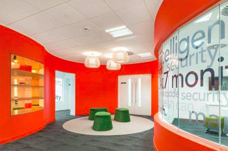 办公室设计中色彩应用的注意事项