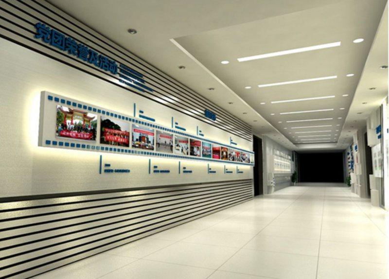 办公室设计中如何设计好公司形象墙
