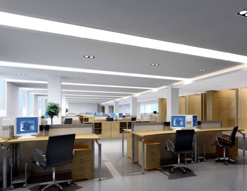 这样简约风格的办公室装修更受欢迎