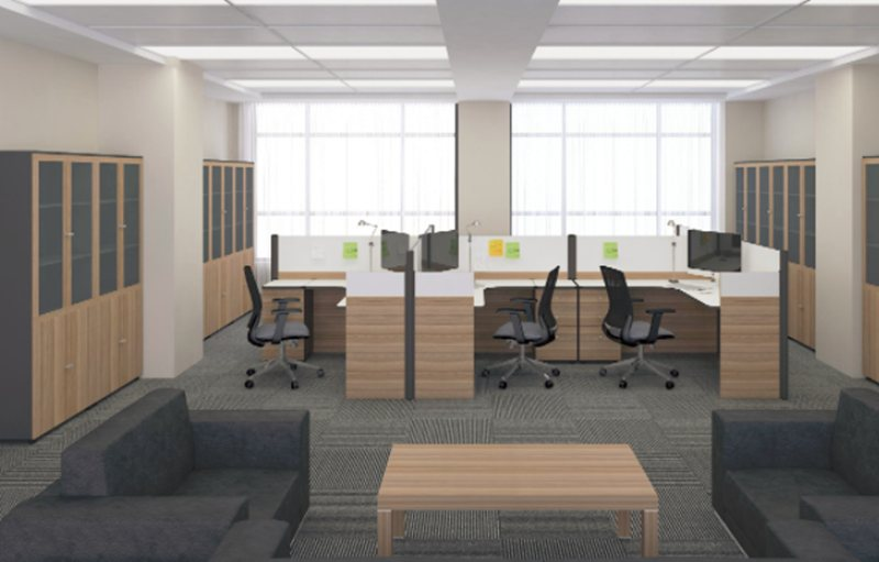 不同部门在办公室装修方面有不同特点