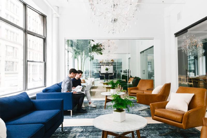 这种设计,办公室体验感更强!