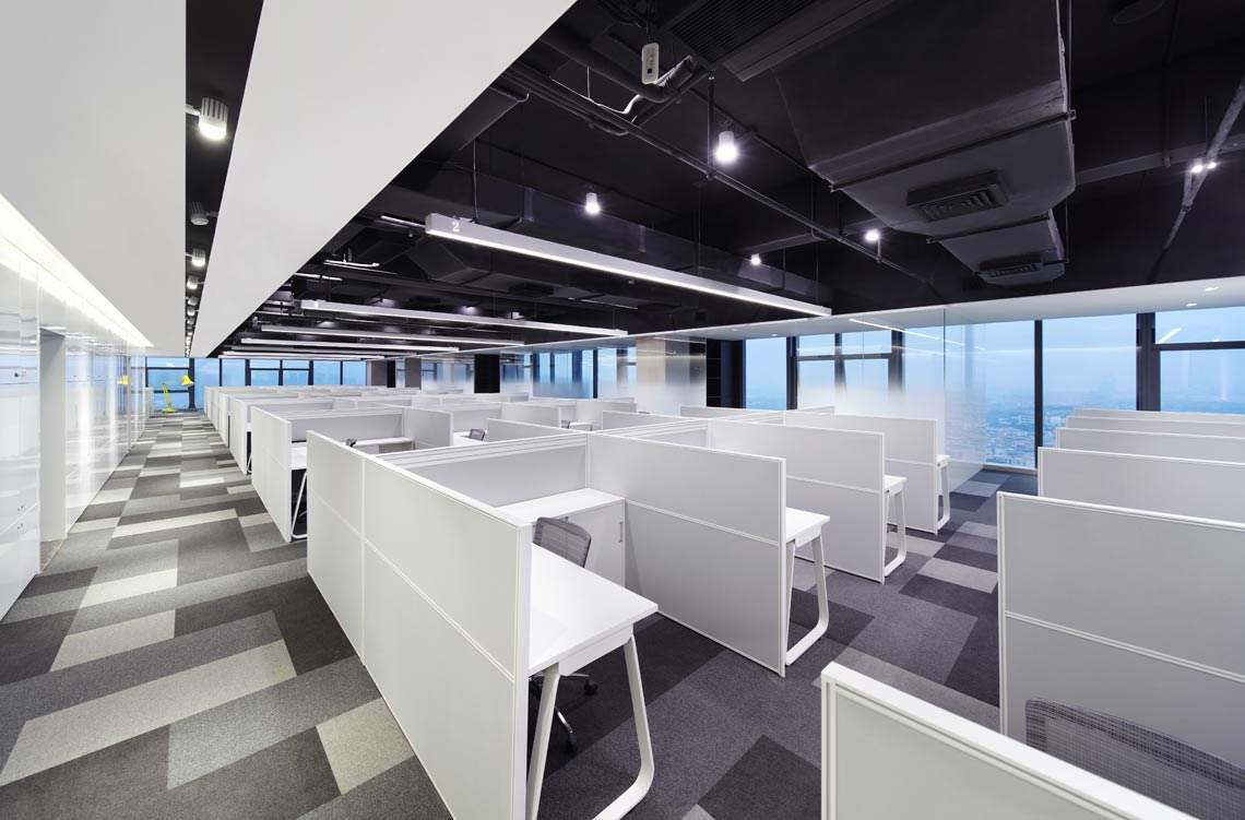 個性化定制,全沉浸式體驗的辦公室設計
